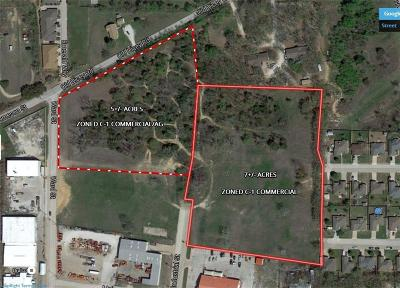 Weatherford Commercial Lots & Land For Sale: 112 Industrial Street