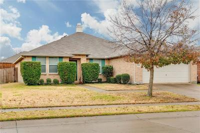 Mckinney Single Family Home Active Contingent: 3604 McClintick Road