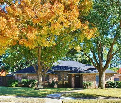 Coppell Single Family Home Active Option Contract: 314 Greentree Drive