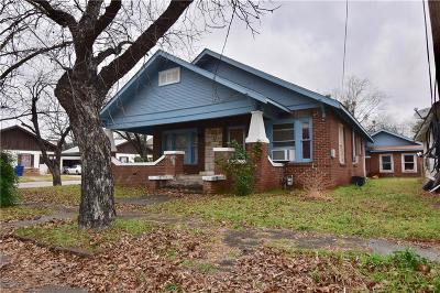 Brownwood Single Family Home For Sale: 1009 Avenue H