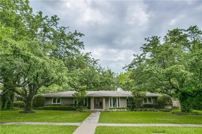 Dallas County Single Family Home For Sale: 6415 Northwood Road