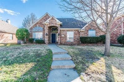 Allen Single Family Home Active Option Contract: 1312 Hillcrest Drive