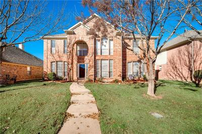 Carrollton Single Family Home Active Option Contract: 3941 Legacy Trail