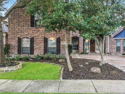 Allen Single Family Home Active Option Contract: 913 White River Drive