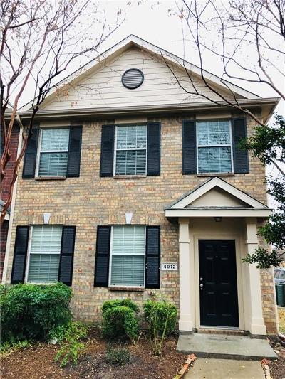 Mckinney Townhouse Active Contingent: 4912 Heather Glen Trail