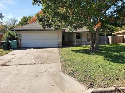 Sherman Single Family Home For Sale: 730 Patricia Drive