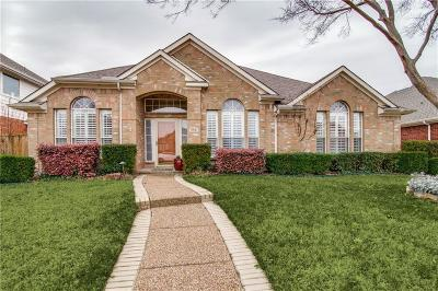 Mckinney Single Family Home Active Option Contract: 5821 Sidney Lane