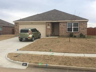 Terrell Single Family Home For Sale: 242 Willow Creek Lane