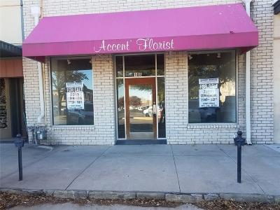 Weatherford Commercial For Sale: 108 Houston Avenue