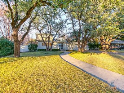 Fort Worth Single Family Home For Sale: 6236 Kenwick Avenue