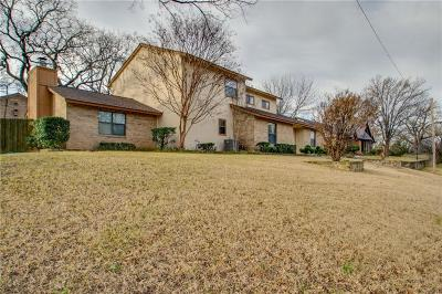 Hurst Single Family Home Active Option Contract: 2237 Mountainview Drive