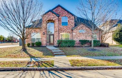 Mckinney Single Family Home Active Contingent: 5801 Deer Run Drive