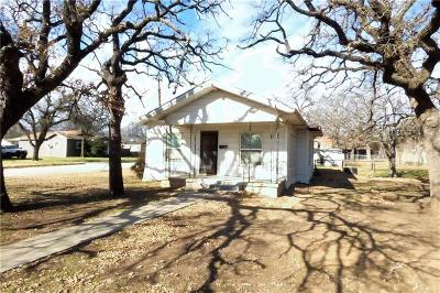 Eastland TX Single Family Home Active Option Contract: $50,000