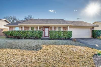 Carrollton Single Family Home Active Option Contract: 2124 Benbrook Drive
