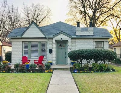 Dallas County Single Family Home For Sale: 501 Cordova Street