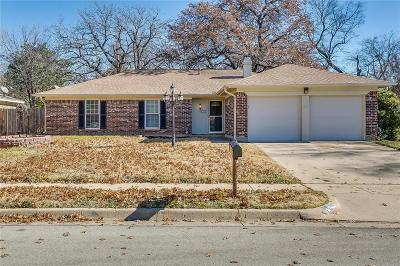 Bedford Single Family Home Active Option Contract: 1208 Cumberland Drive