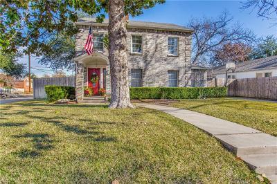 Tarrant County Single Family Home For Sale: 3201 Greene Avenue