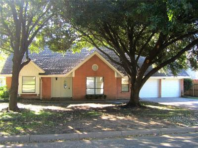 North Richland Hills Residential Lease For Lease: 7612 Palomar Drive