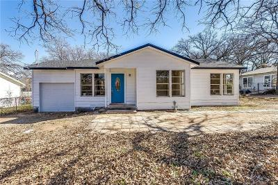 Kennedale Single Family Home Active Option Contract: 200 N Dick Price Road