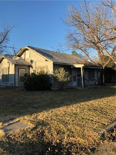 Brownwood Single Family Home Active Option Contract: 1509 Avenue J