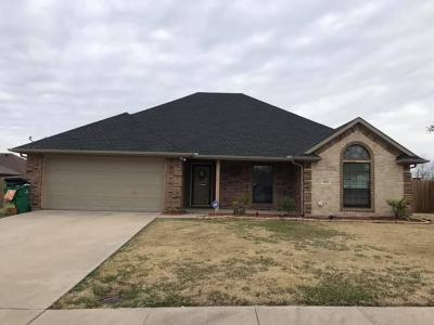 Kaufman Single Family Home Active Option Contract: 1402 Still Meadow Drive