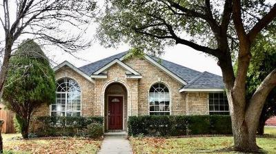Plano Single Family Home Active Option Contract: 3120 Hoffman Drive