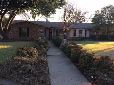 Haltom City Single Family Home Active Option Contract: 5900 Diamond Oaks Court