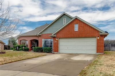 Burleson Single Family Home Active Option Contract: 700 Evergreen Court