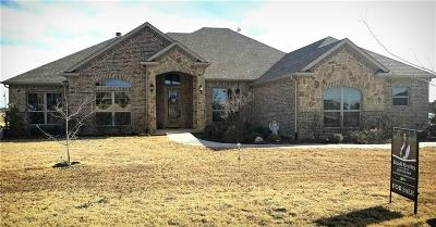 Azle Single Family Home Active Contingent: 117 Deer Grove Trail
