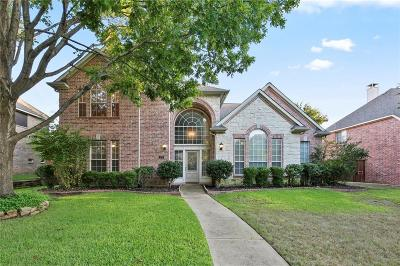 Coppell Single Family Home For Sale: 479 Hazelwood Cove