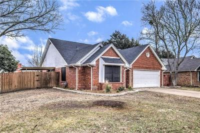 Flower Mound Single Family Home Active Option Contract: 1152 Prospect Drive