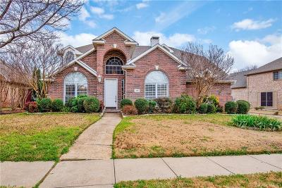 Coppell Single Family Home Active Contingent: 406 Hampton Drive