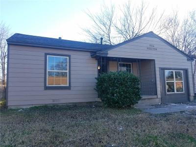 Grand Prairie Single Family Home For Sale: 1633 Cottonwood Street