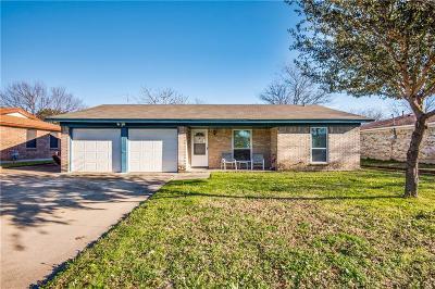 Watauga Single Family Home Active Option Contract: 6112 Saramac Drive