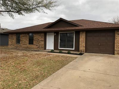 Seagoville Single Family Home Active Option Contract: 513 Mary Jane Lane
