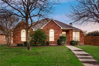 Frisco Single Family Home Active Option Contract: 9501 Thorncliff Drive