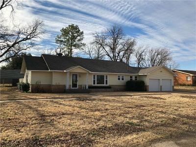 Baylor County Single Family Home For Sale: 601 W McClain Street