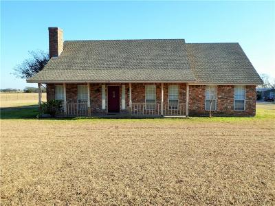 Waxahachie Single Family Home Active Option Contract: 1019 Hoyt Road