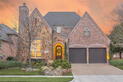 The Colony Single Family Home Active Contingent: 3121 Millburn Court