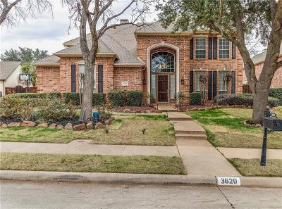 Flower Mound Single Family Home Active Option Contract: 3620 Wolcott Drive