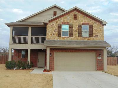 Stephenville Single Family Home Active Option Contract: 855 Wind Song