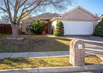 Little Elm Single Family Home For Sale: 1904 Clear Creek Drive