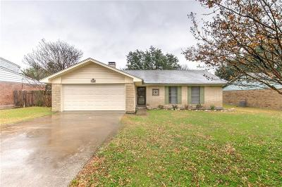 Waxahachie Single Family Home Active Option Contract: 125 Alamo Street