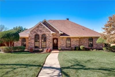 Carrollton Single Family Home Active Contingent: 2103 High Country Drive