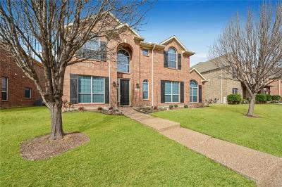 Frisco Single Family Home Active Contingent: 13327 Mannheim Drive