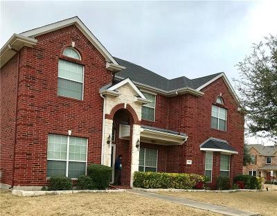 Sachse Single Family Home For Sale: 7315 Sparrow Point Lane