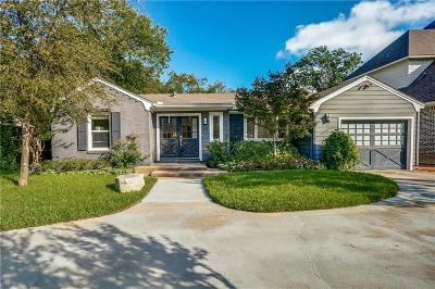Dallas Single Family Home For Sale: 5619 Southwestern Boulevard