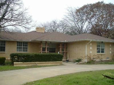 Dallas County Single Family Home For Sale: 4421 Walnut Hill Lane
