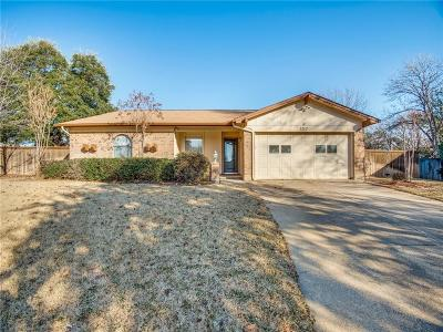 Bedford Single Family Home Active Option Contract: 3217 Mossy Oak Court