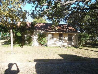 Comanche TX Single Family Home For Sale: $34,900